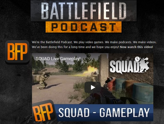Battlefield Podcast